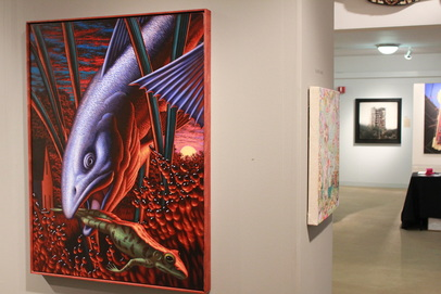 Leonard Koscianski's Kingfish at Art Chicago 2011